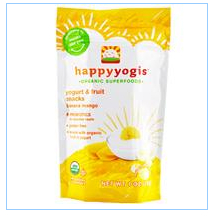 Nurture Inc. (Happy Baby), happyyogis,酸奶和水果点心,香蕉芒果,1盎司(28克)