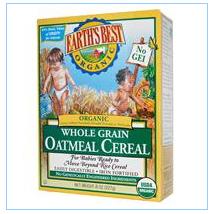Earth's Best, 有机全谷物燕麦片,8盎司(227克)
