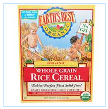 Earth's Best, 有机全谷物米粉,8盎司(227克)