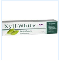 Now Foods, Solutions, Xyli-White牙膏凝胶,清新薄荷,6.4盎司(181克)