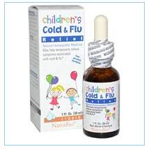 NatraBio, 儿童感冒救济,1液体盎司(30毫升)