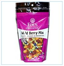 Eden Foods, 有机,野生浆果混合,坚果,种子和浆果,4盎司(113 克)