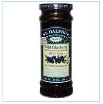 St. Dalfour, 野生蓝莓,高级野生蓝莓果酱,10盎司(284克)
