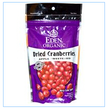 Eden Foods, 有机蔓越莓干,4盎司(113 克)