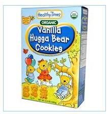 Healthy Times, 有机哈加小熊饼干,香草味,6.5盎司(182克)