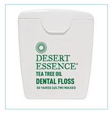 Desert Essence 茶树油牙线.