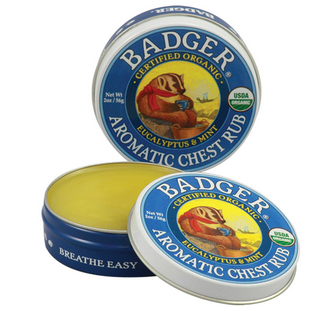 Badger Company贝吉獾冬日暖暖膏(鼻通膏)