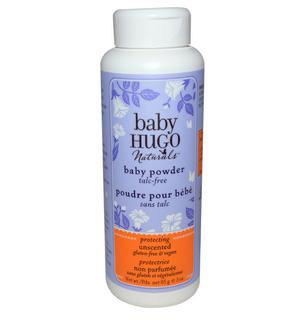 Hugo Naturals雨果自然有机婴儿爽身粉,85毫升