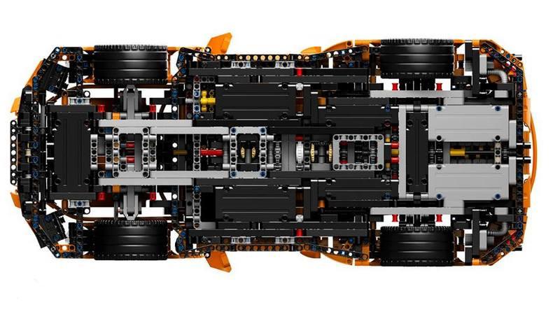 乐高(lego) 42056 保时捷911 gt3 rs technic porsche