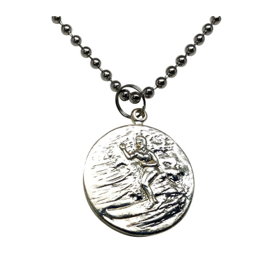 St. Christopher Surf Necklace 旅行者的守护神 项链