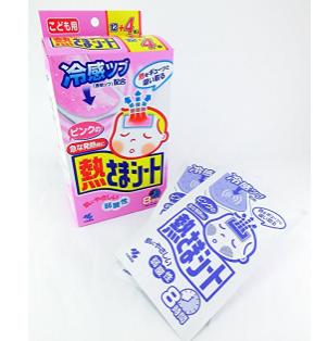 粉红装 降温贴 退热贴 婴儿用 12+4片×4盒