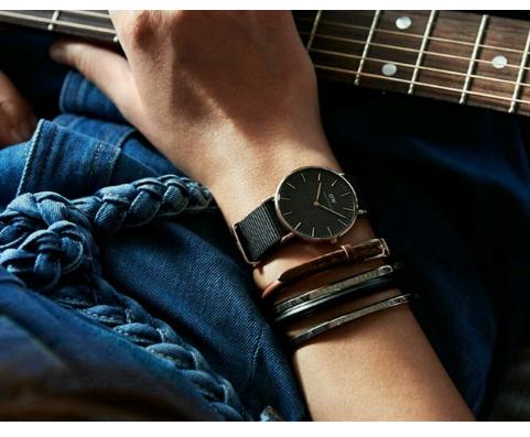 Daniel Wellington/丹尼尔·惠灵顿DW00100148中性时装腕表