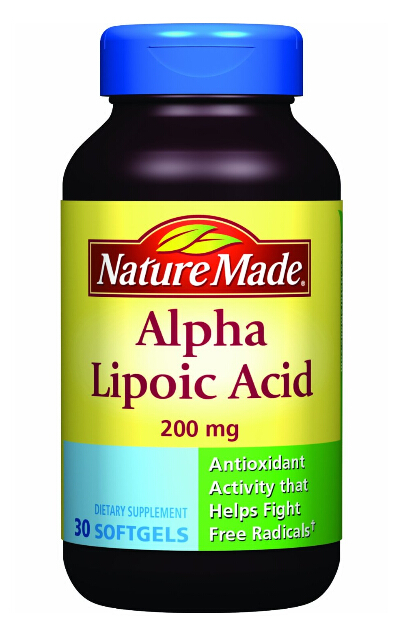 抗氧化防衰老 硫辛酸凝胶Alpha Lipoic Acid Softgel