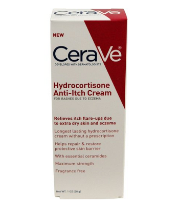 【CeraVe Special Use Cream Hydrocortisone AntiItch湿疹过敏修复止痒膏】