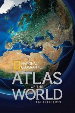 美亚 近期好价!【国家地理(National Geographic) Atlas of the World 世界地图集(第10版)】