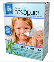 iherb【Nature''s, Nasal Wash System, Little Squirt Kit】