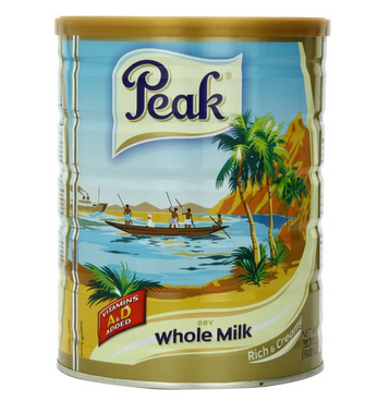 Peak Dry Whole Milk Powder全脂奶粉
