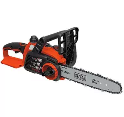 限今日!BLACK+DECKER LCS1020 20V MAX锂电池10英寸电锯