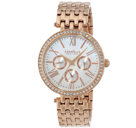 2.9折!Caravelle by Bulova New York 44N101 女款时装腕表