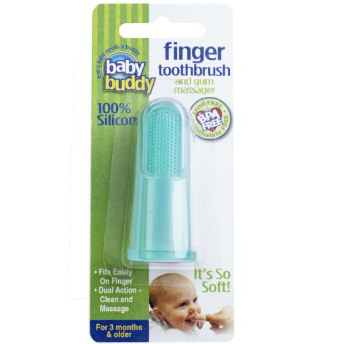 Baby Buddy Finger Toothbrush 婴儿硅胶指套牙刷