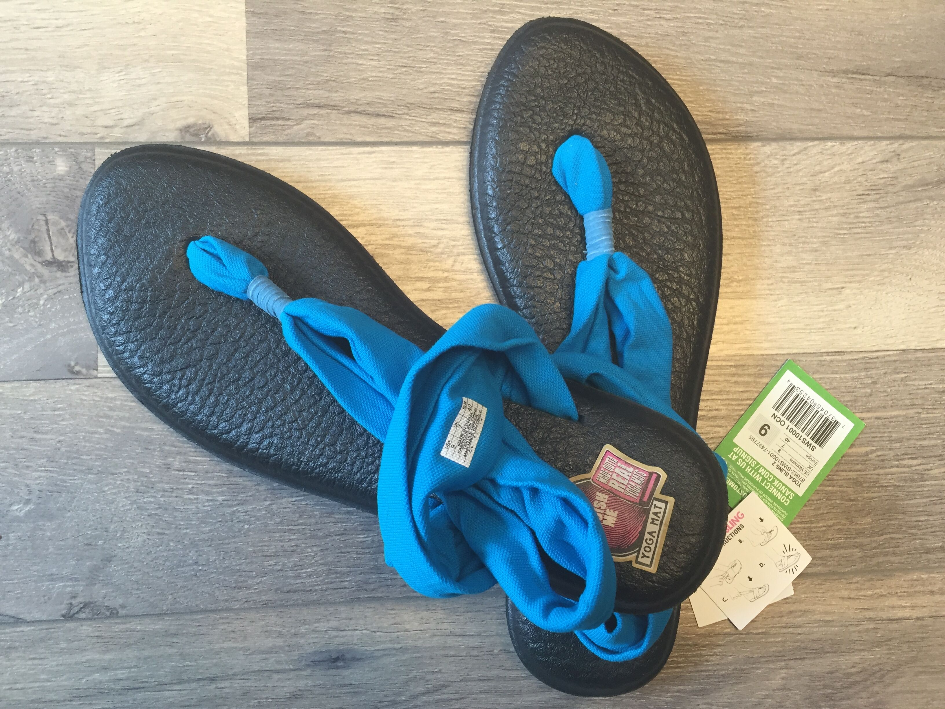 Sanuk Yoga凉鞋18刀到手