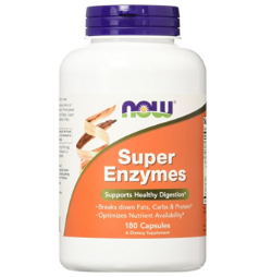 NOW Foods Super Enzymes 诺奥超级酵素,180 Caps