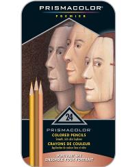 Prismacolor Premier 彩色铅笔 肖像套装 软芯 24支装