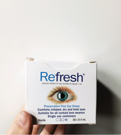【Pharmacy Online】 Refresh 抗疲劳眼药水 0.4ml*30支