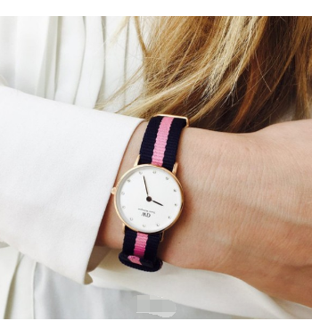 Daniel Wellington 0906DW 女款石英腕表