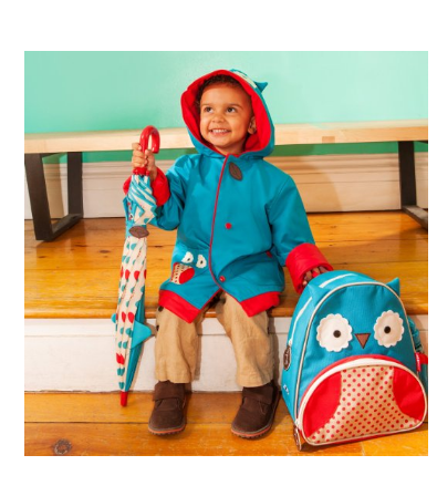 【亚马逊海外购+美亚直邮】Skip Hop 动物园系列 儿童卡通雨伞