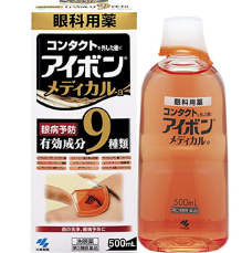 【日亚】小林日化(KOBAYASHI) MEDICAL a 洗眼液 500ml