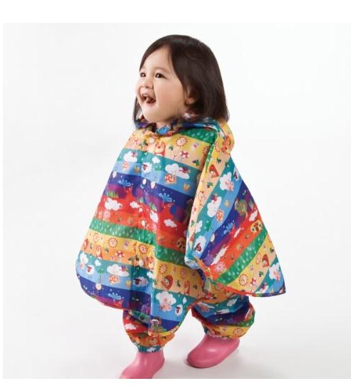 【亚马逊海外购 + 日亚直邮】Solby 可爱小宝宝分体式卡通雨披100cm