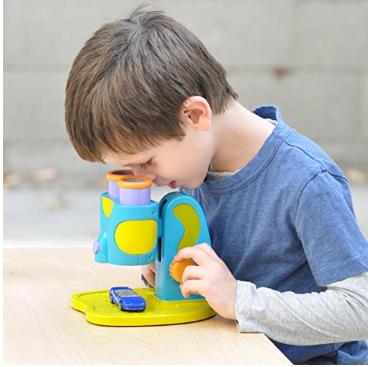 两件无税包邮!【亚马逊海外购 + 美亚直邮】Educational Insights My First Microscope 儿童显微镜