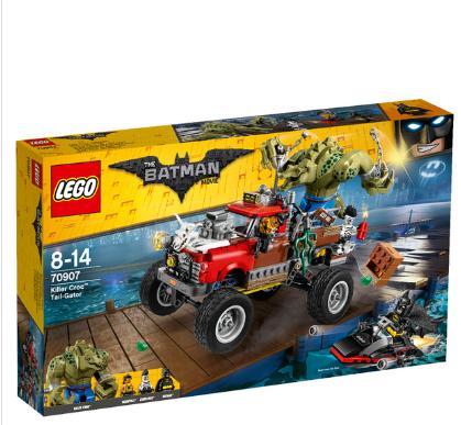 【The Hut】乐高蝙蝠侠70907杀手鳄的巨轮车线上六折 + 额外八八折!
