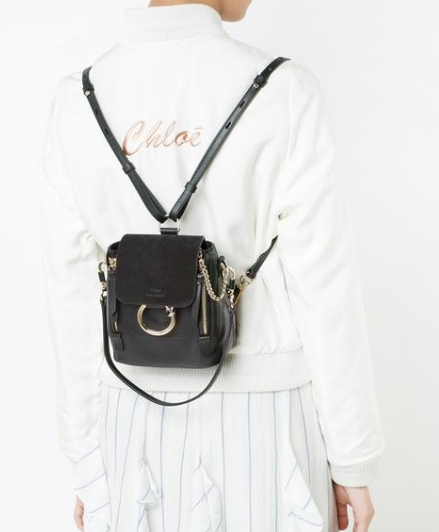 CHLOÉ mini Faye backpack 迷你背包 三色可选