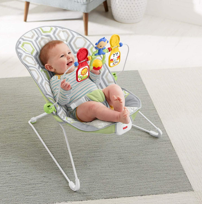 【亚马逊海外购】Fisher Price 费雪 婴儿摇椅