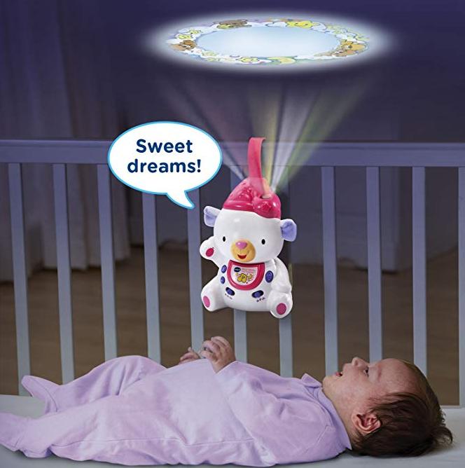 【亚马逊海外购】Vtech伟易达 婴儿摇篮曲投影仪