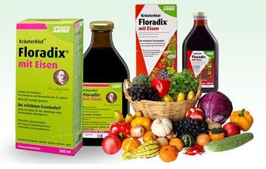 补血圣品!Salus Floradix铁元补铁补血营养液500ml*3