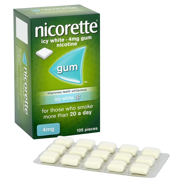 秒杀!奥巴马同款!#亚马逊海外购#Nicorette 力克雷 冰爽薄荷味 戒烟糖4mg*105粒
