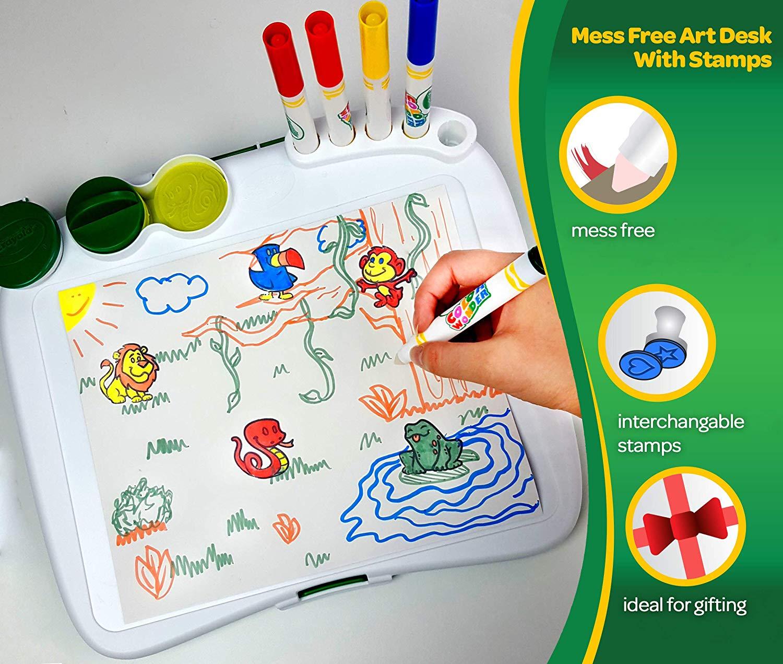 秒杀!#亚马逊海外购#Crayola绘儿乐 儿童绘画艺术套装