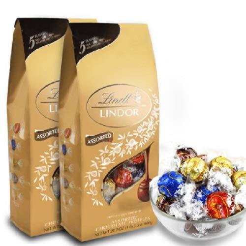限时抢购!#亚马逊海外购[超话]#Lindt 瑞士莲 软心巧克力分享装 600g*2件