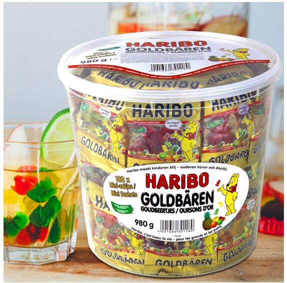爆款小熊软糖补货啦!#德国直邮#【BA保镖】HARIBO哈瑞宝 迷你小熊软糖 1桶