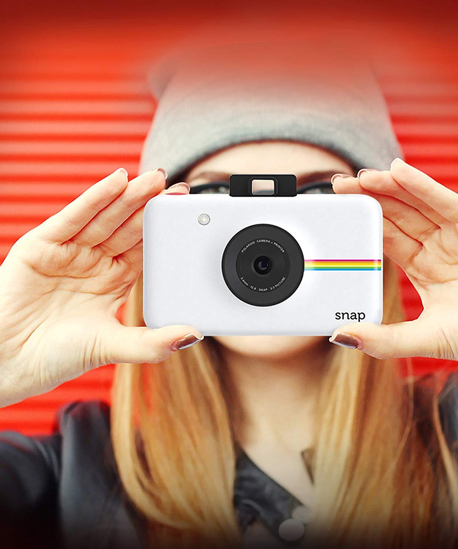 秒杀!#亚马逊海外购#Polaroid 宝丽来 SNAP 拍立得相机