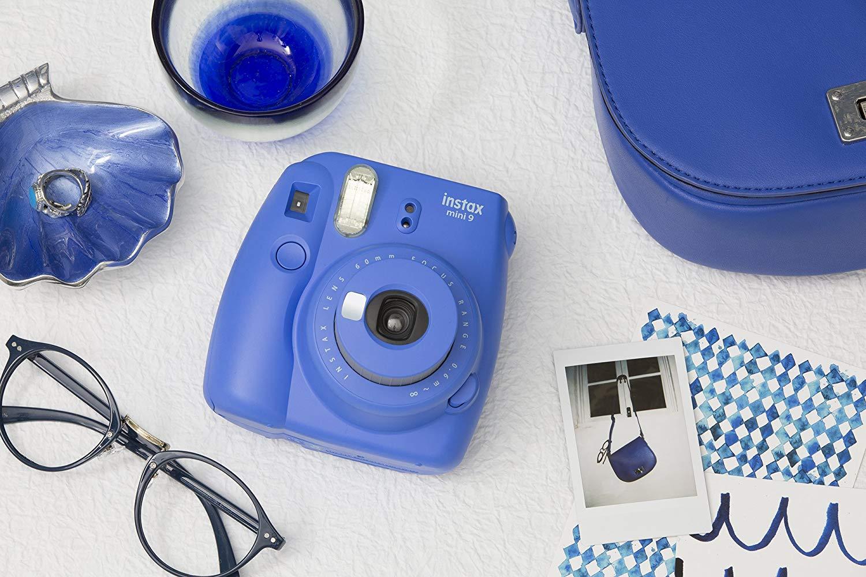 #亚马逊海外购#Fujifilm富士instax mini 9拍立得相机 蓝色