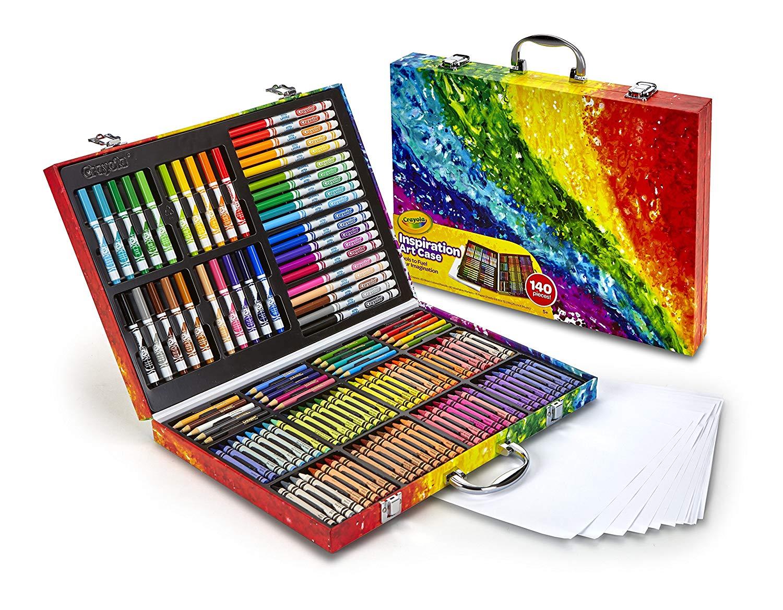 补货啦!低过黑五!#亚马逊海外购#Crayola 绘儿乐 Inspiration 高级小艺术家精美礼盒绘画套装