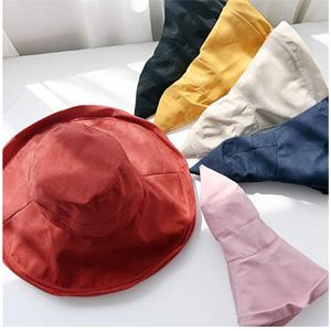 #亚马逊海外购#iHomey 女式渔夫帽遮阳帽 UPF 50+黑色款