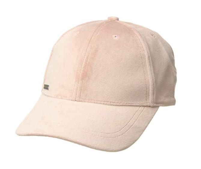库存不多!#亚马逊海外购#Soia & Kyo Dolce 女士可调节天鹅绒棒球帽