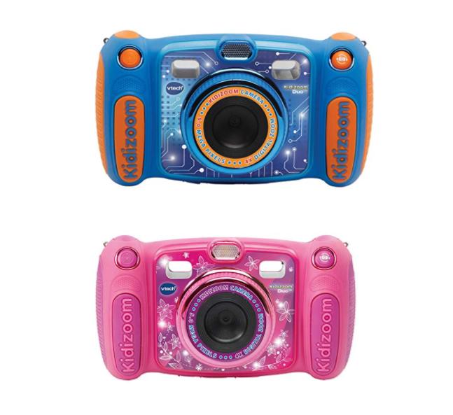 六一好礼!#亚马逊海外购#VTech伟易达 Kidizoom 儿童相机粉色和蓝色