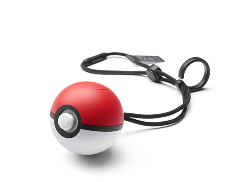 无税!#亚马逊海外购#Nintendo 任天堂 精灵球Plus Switch游戏手柄