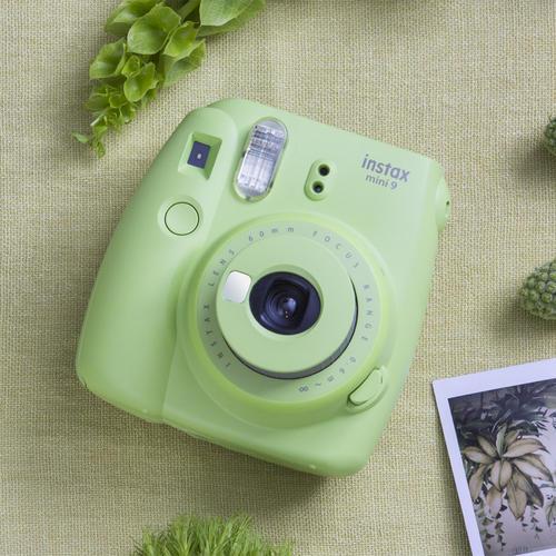 小清新必备拍立得!Fujifilm富士instax mini 9拍立得相机青柠绿